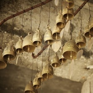 11537595-bells-inside-the-buddhist-monastery-square-composition